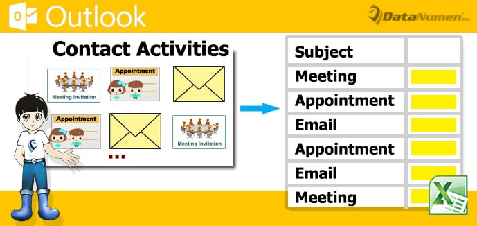 Quickly Export the Activities of a Specific Contact to Excel