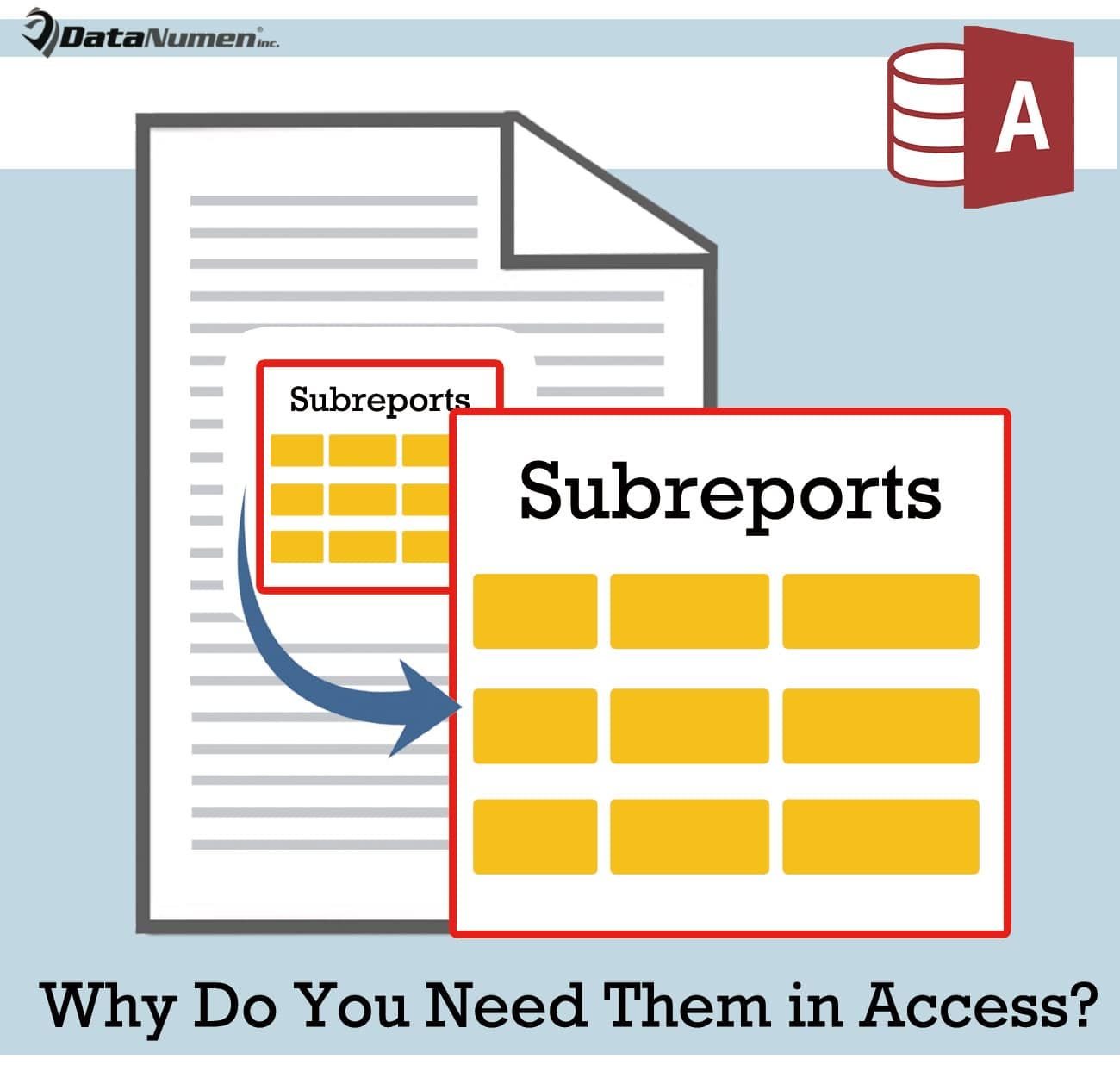 Subreports - Why Do You Need Them In Access