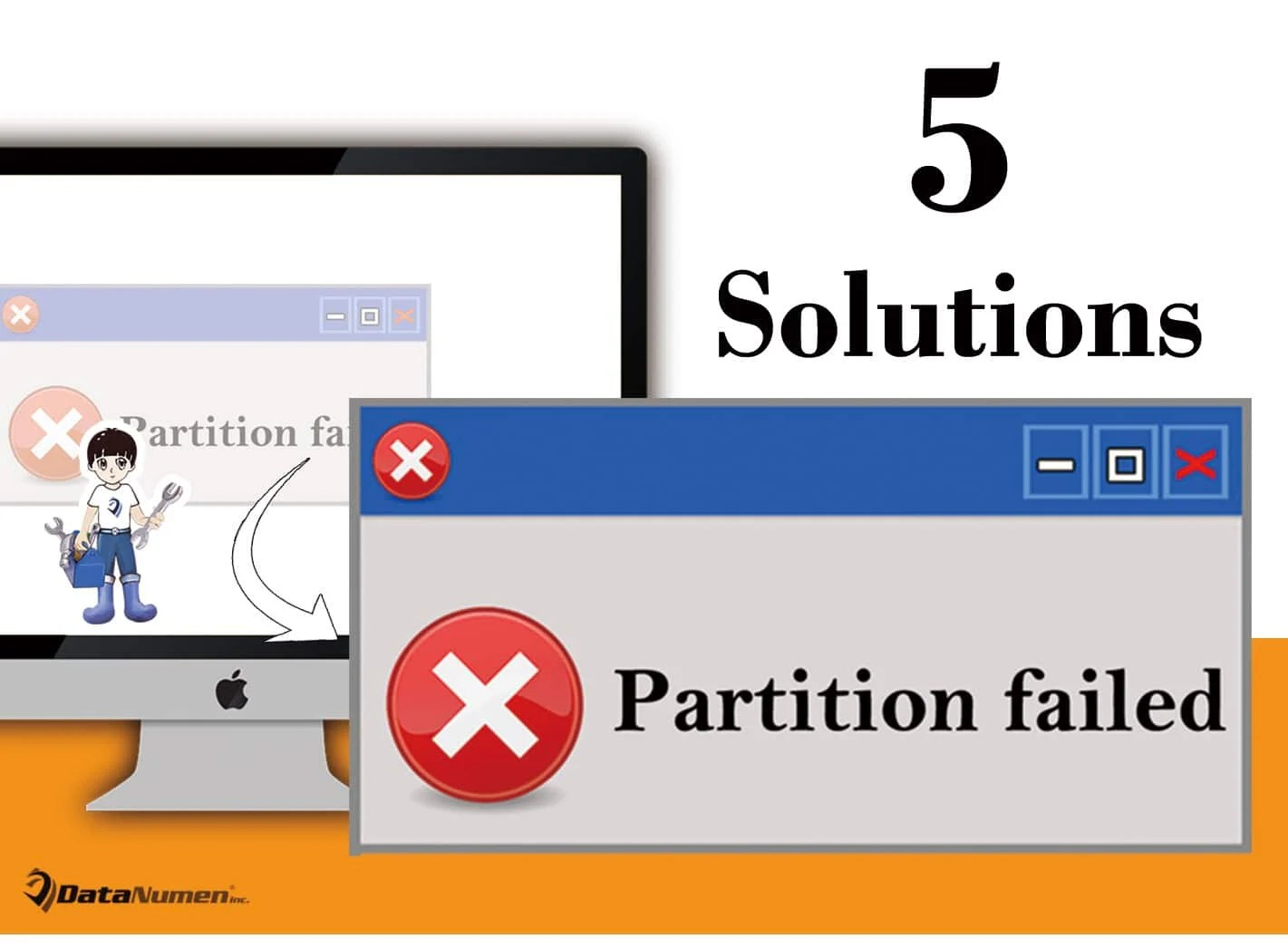"5 Useful Solutions to ""Partition failed"" Error on Mac System"