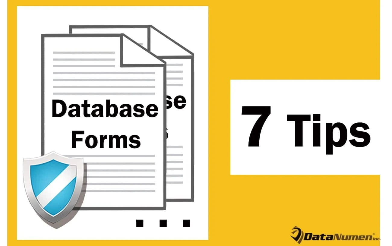 7 Practical Tips To Protect Your MS Access Database Forms Before Deployment