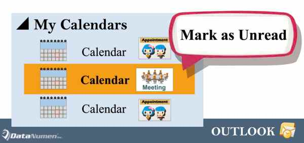 Auto Mark Incoming Meetings as Unread in Your Outlook Calendar