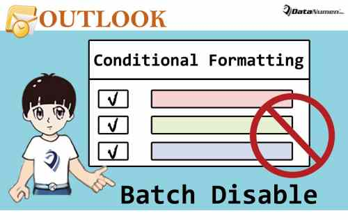 Batch Disable All Custom Conditional Formatting Rules in Your Outlook