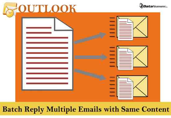 Batch Reply Multiple Emails with Same Content in Your Outlook