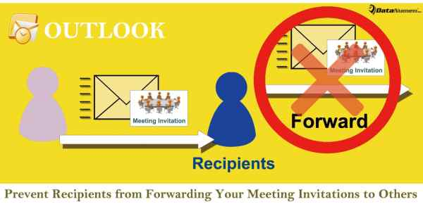 Prevent Recipients from Forwarding Your Meeting Invitations to Others