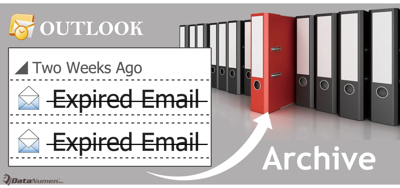 Quickly Archive All Expired Emails in Your Outlook