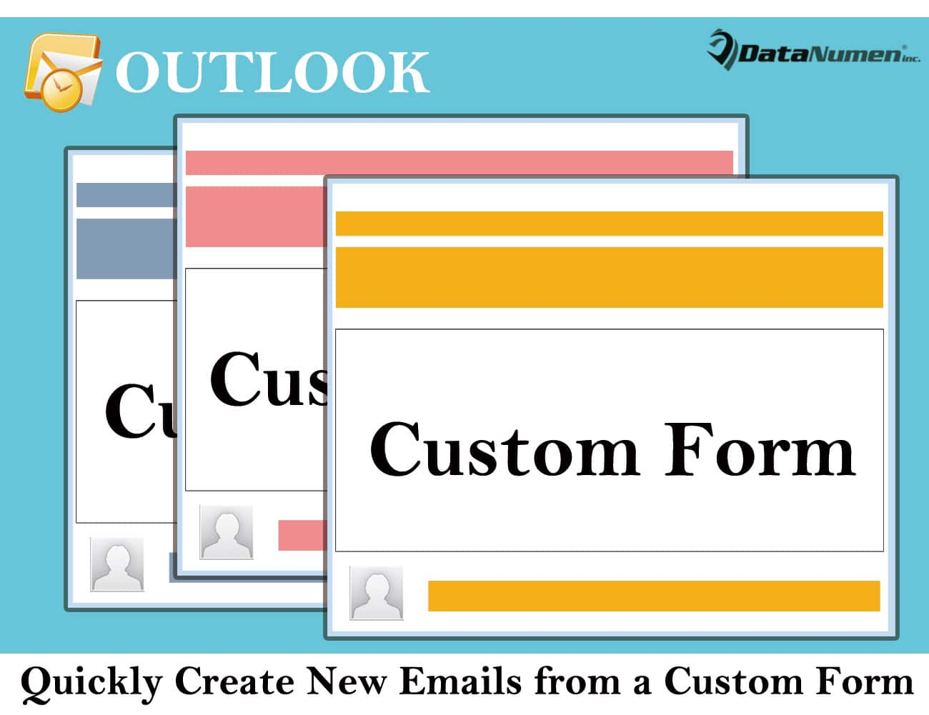 how to create a form in outlook