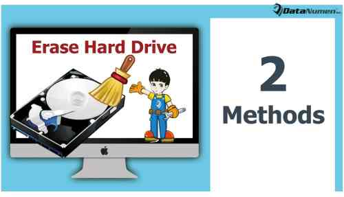 2 Methods to Safely Erase a Hard Drive on Mac System