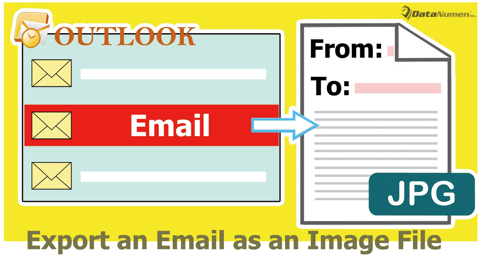 Quickly Export an Outlook Email as an Image File
