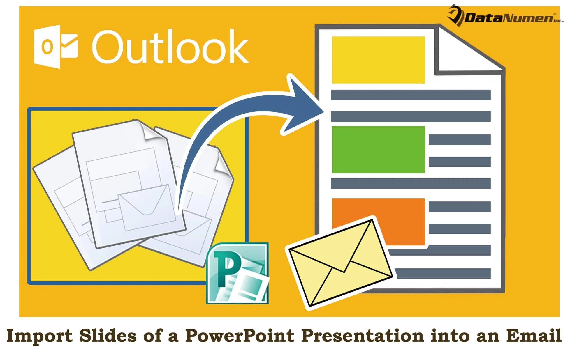 Quickly Import the Slides of a PowerPoint Presentation into Your Outlook Email