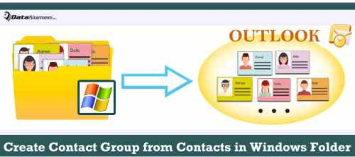 Quickly Create an Outlook Contact Group from All Contacts in a Windows Folder