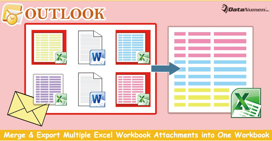 Quickly Merge & Export Multiple Excel Workbook Attachments into One Workbook in Outlook