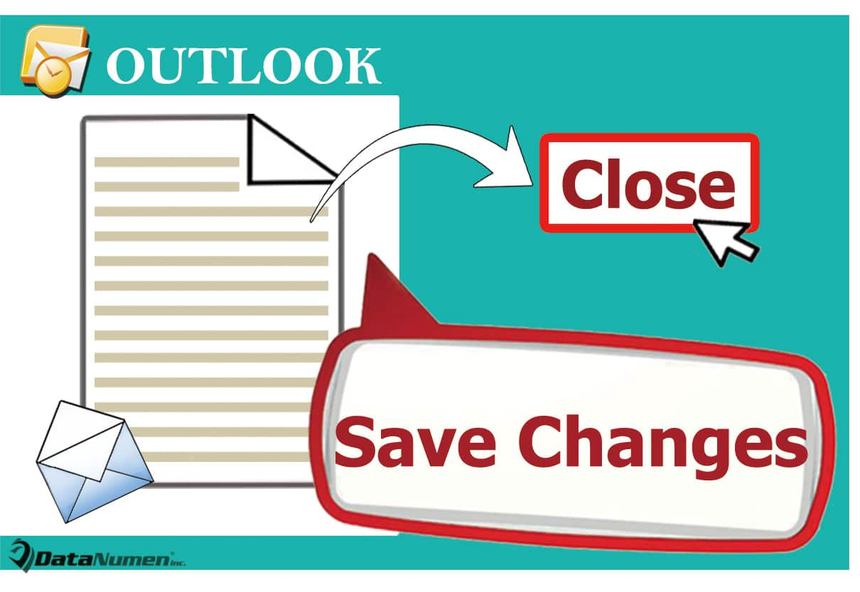 Save Changes without Prompt when Closing a Modified Email