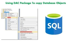 Using DAC Package To Copy Database Object