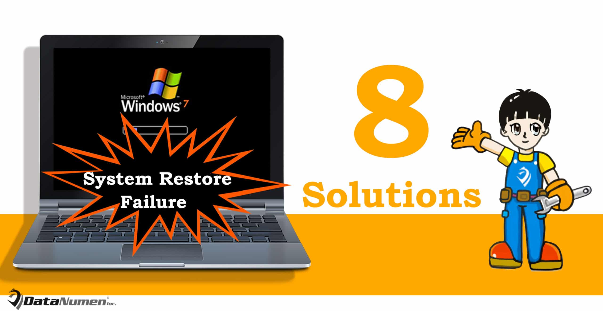 8 Effective Solutions when System Restore Fails in Windows