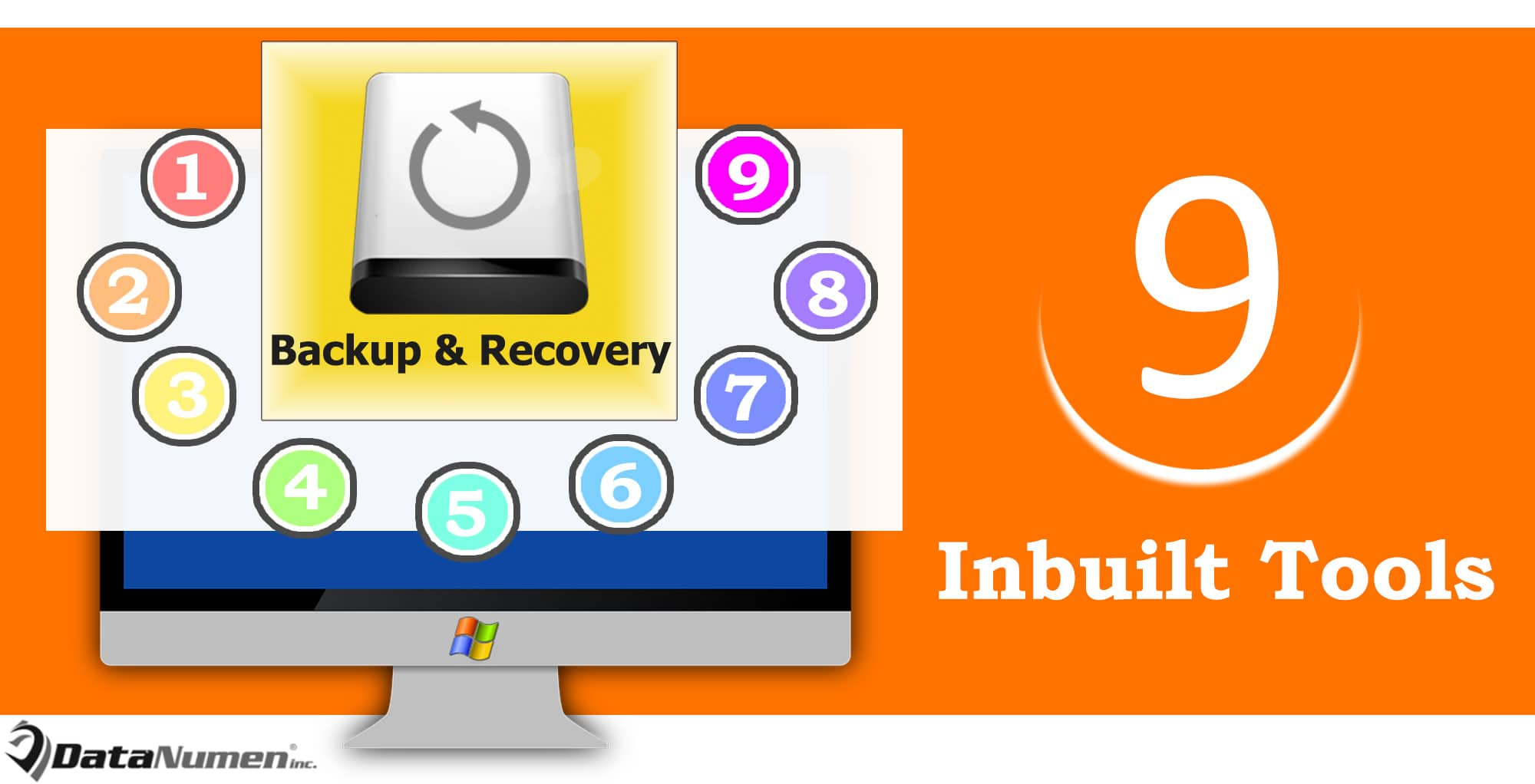 9 Handy Inbuilt Backup & Recovery Tools in Windows