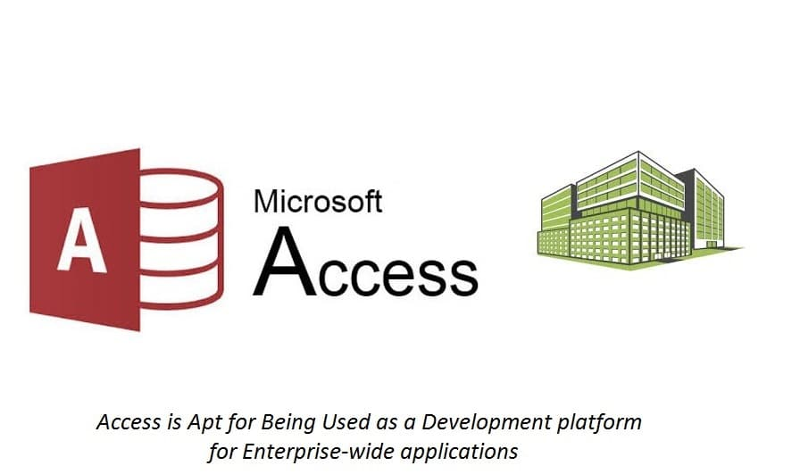 Access Is Apt For Being Used As A Development Platform For Enterprise-Wide Applications