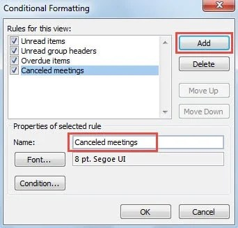 Create a New Conditional Formatting Rule