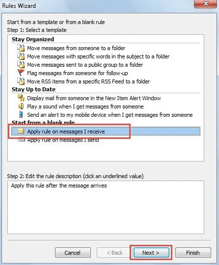 how to set auto forward in outlook