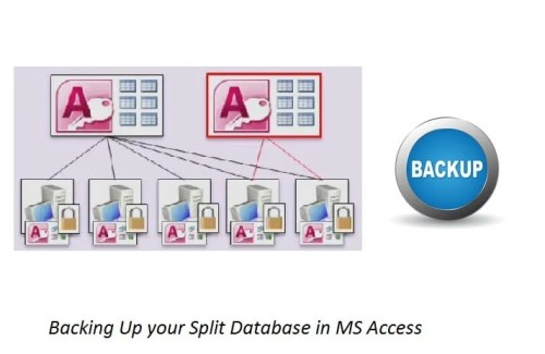 Backing Up Your Split Database In MS Access