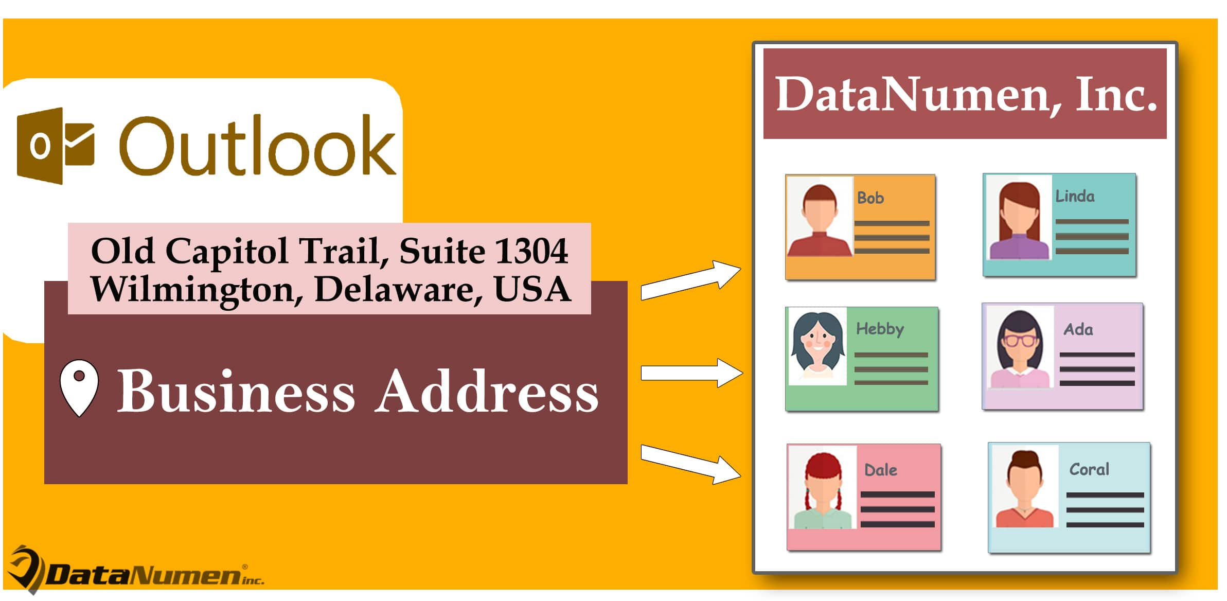 Batch Apply the Same Business Address to All Outlook Contacts in the Same Company
