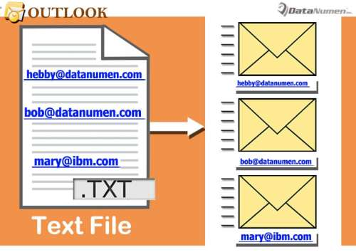Batch Send an Outlook Email to All Email Addresses Appearing in a Plain Text File