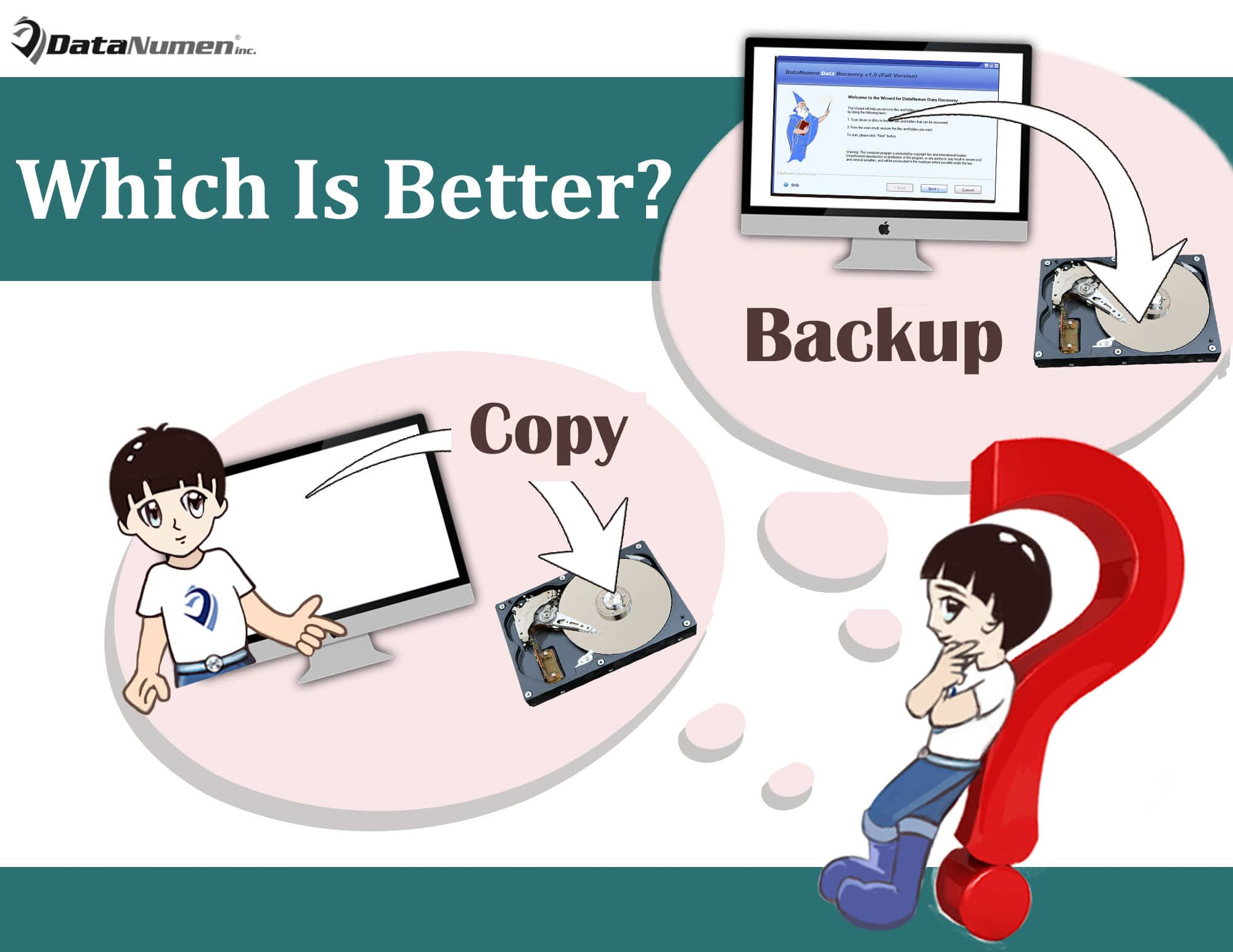 Copy vs Backup: Which Is Better for Backing up Your PC?