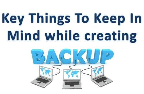 Key Things To Keep In Mind When Backing Up SQL Server Data