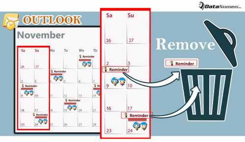 Quickly Remove the Reminders for the Weekend Occurrences of a Recurring Outlook Appointment