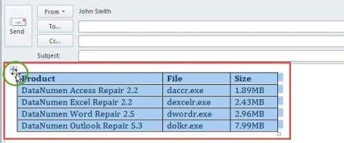 Select Source Table