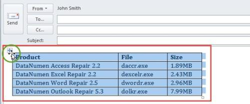 How to Quickly Transpose the Rows and Columns of a Table in Your