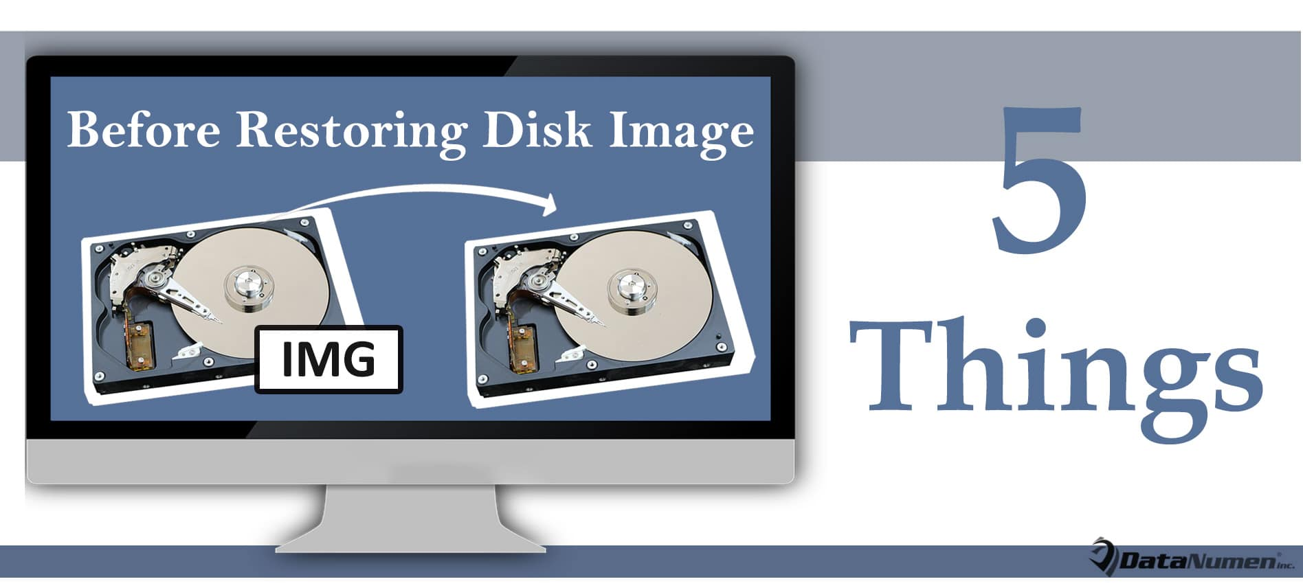 5 Vital Things You Must Do Before Restoring a Disk Image