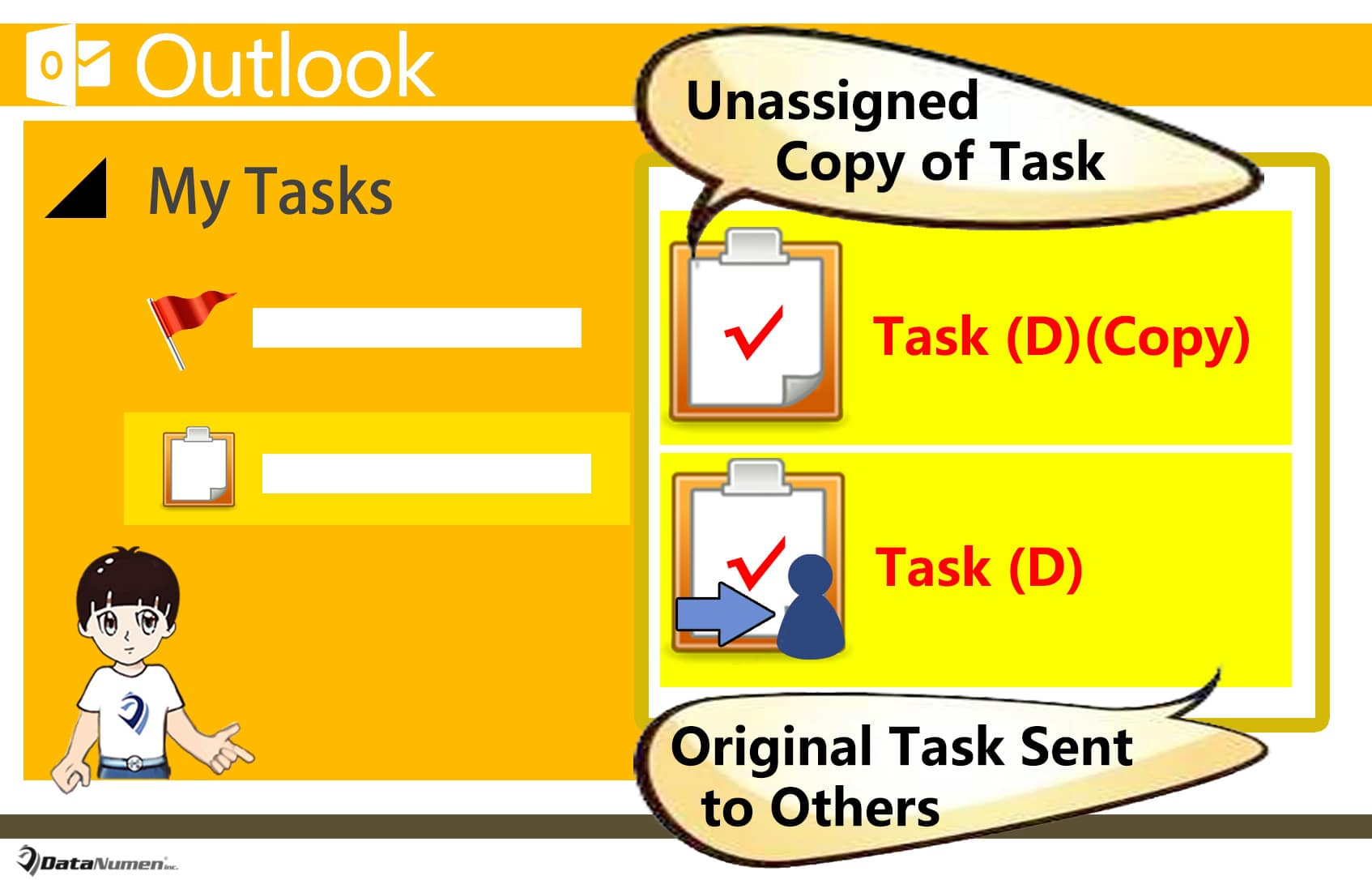 Auto Create Unassigned Copy of a Task when Sending It to Others in Outlook