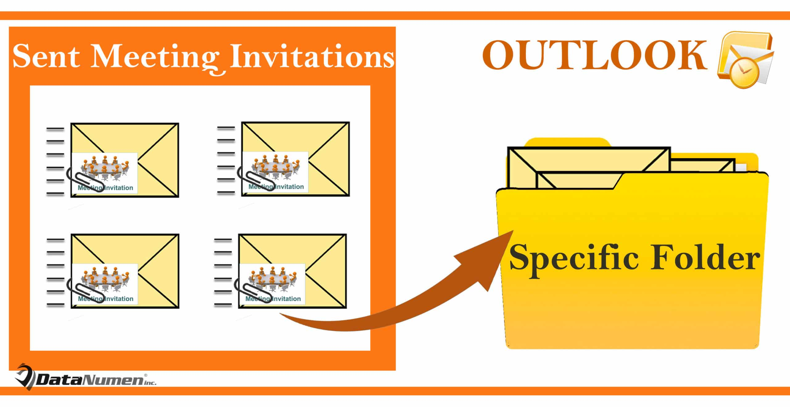 Auto Move Sent Meeting Invitations to a Specific Folder in Your Outlook