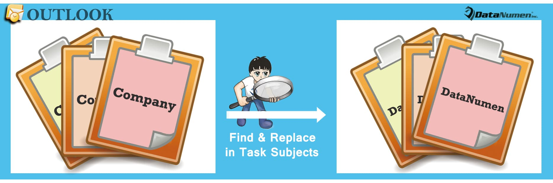 Batch Find & Replace Text in All Tasks' Subjects in Your Outlook