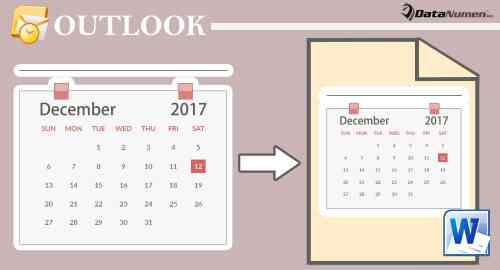 3 Quick Methods To Export Your Outlook Calendar To A Word Document