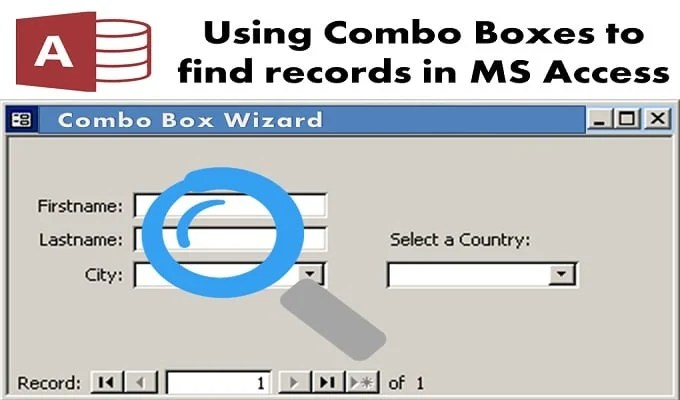Using Combo Boxes To Find Records In MS Acces