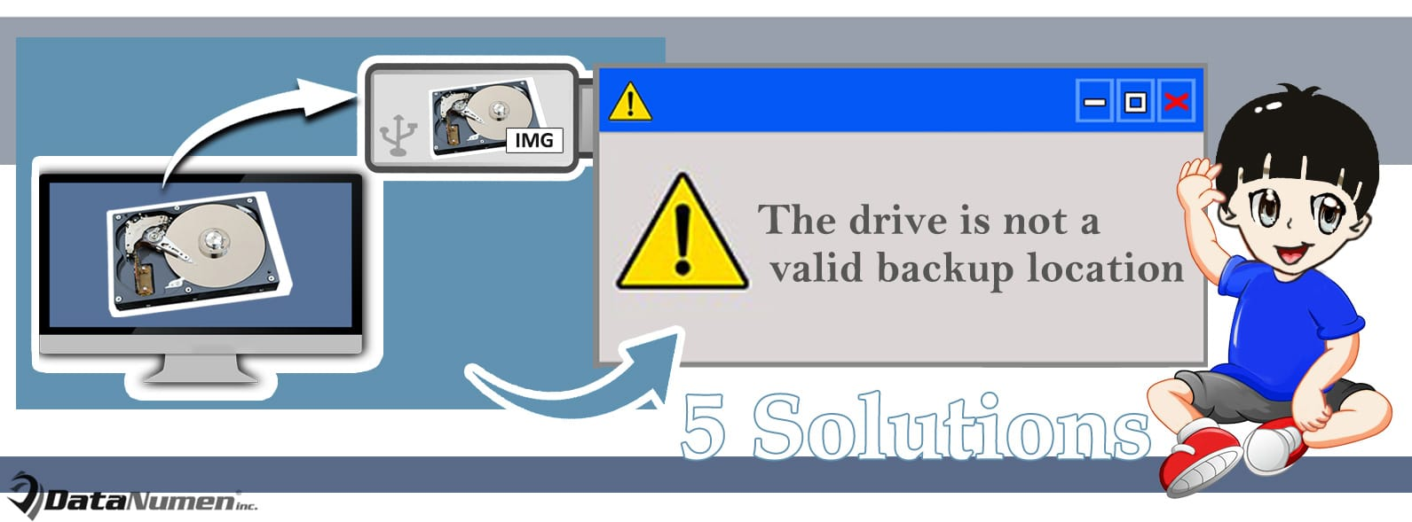 "5 Solutions to ""The drive is not a valid backup location"" Error in Windows"