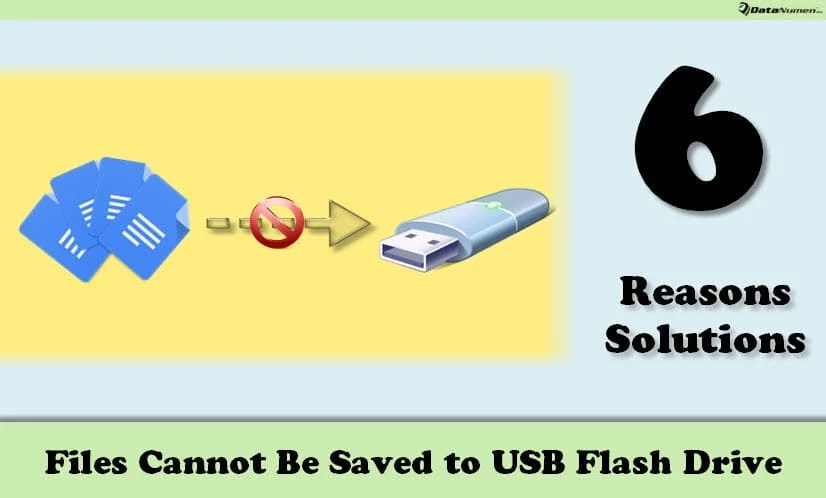 6 Common Reasons & Solutions When Files Cannot Be Saved to