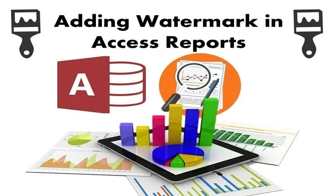 Adding Watermark In Your Access Reports