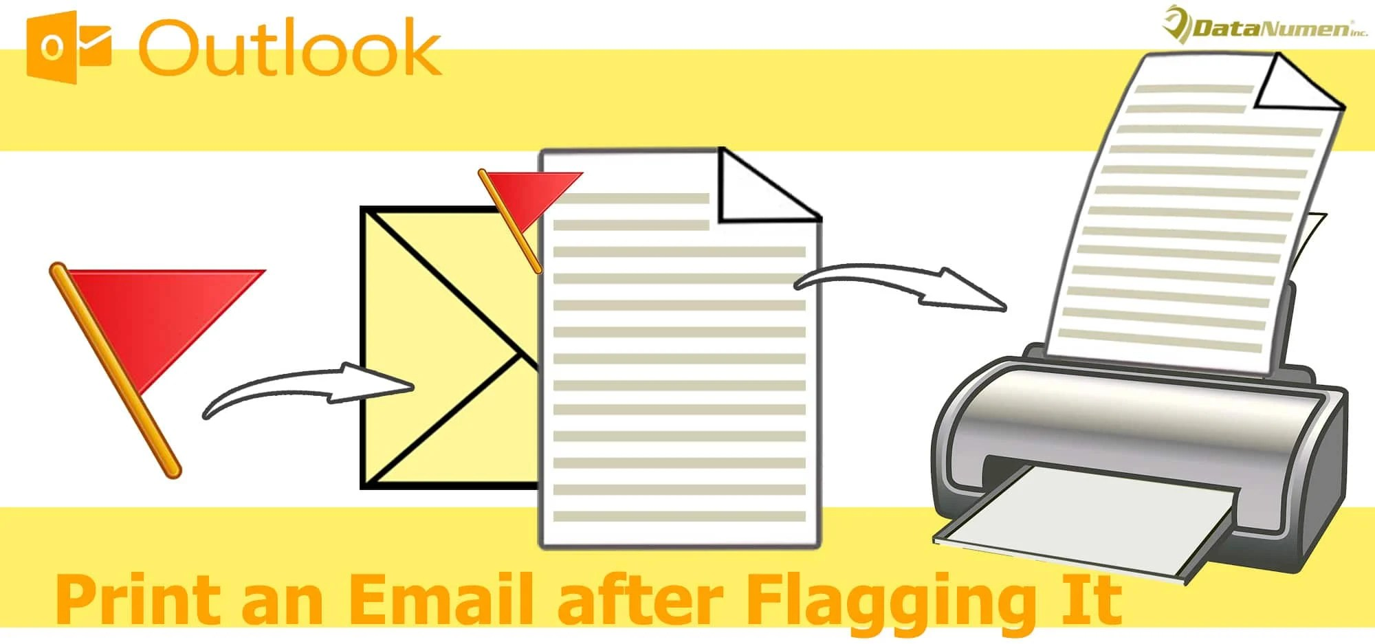 Auto Print an Email after Flagging It in Your Outlook