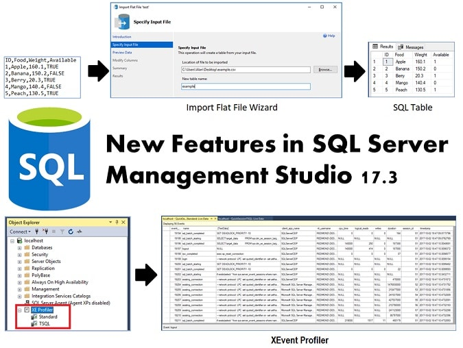 New Features Introduced In SQL Server Management Studio 17.3