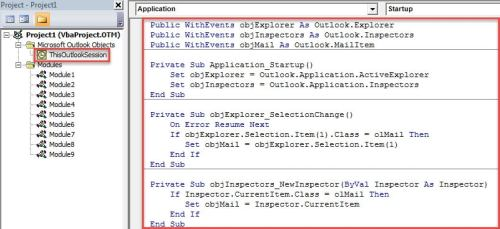 VBA Code - Auto Print an Email after Flagging It