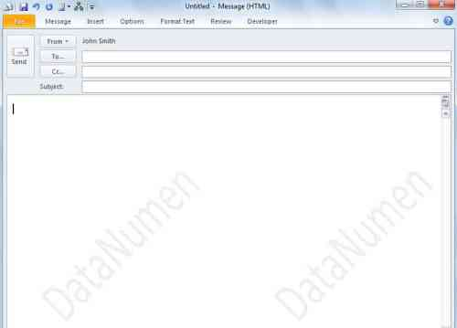 how to make watermark in outlook