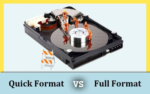 Quick Format vs Full Format: Which Is More Suitable to You?