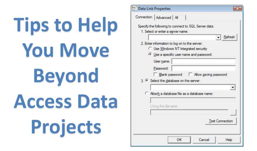 Tips To Help You Move Beyond Access Data Projects