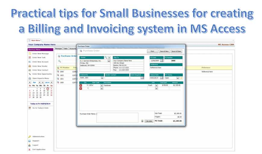 4 practical tips for small businesses to create a billing and