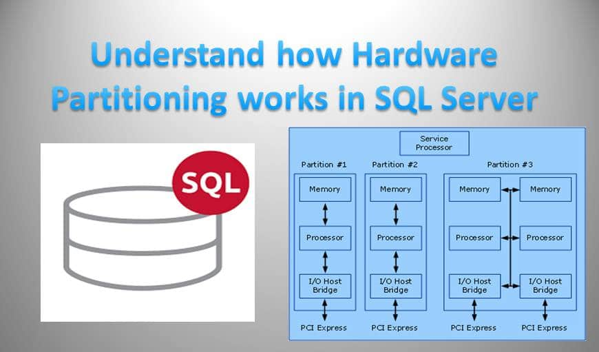 Understand How Hardware Partitioning Works In SQL Server
