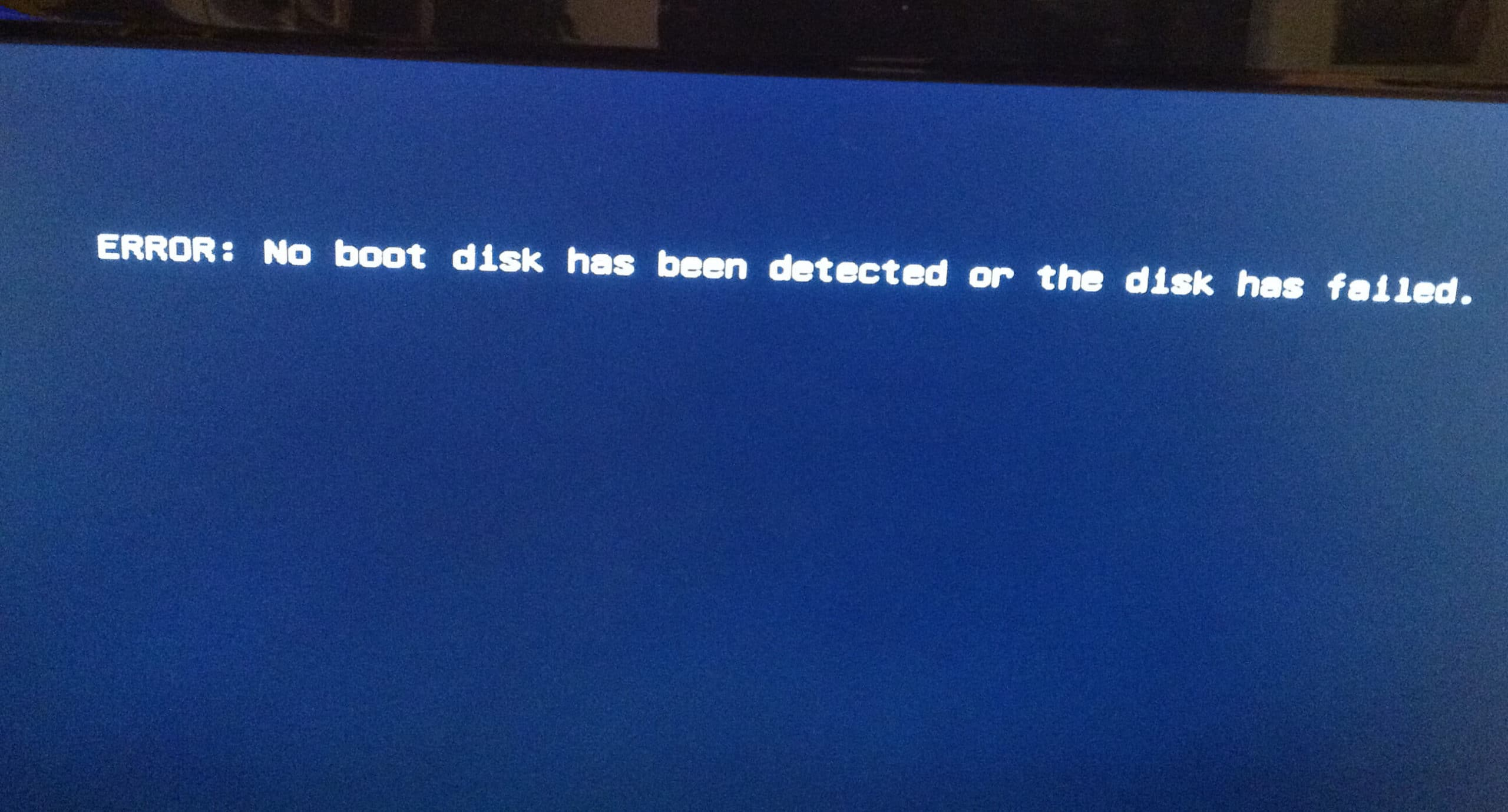 """7 Effective Solutions to """"No boot disk has been detected or the disk has failed"""" Error"""