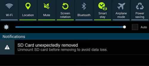 """""""SD card unexpectedly removed"""" Error"""