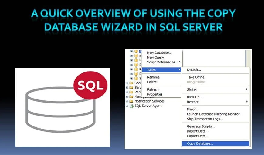 How to Use the Copy Database Wizard in SQL Server